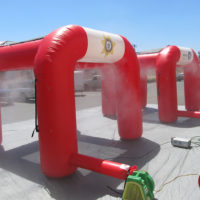 Hydration Misting Tent
